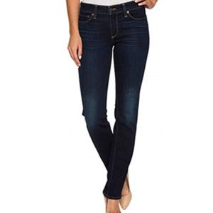 LUCKY BRAND Brooke Straight Jeans 0 25 Dark Wash
